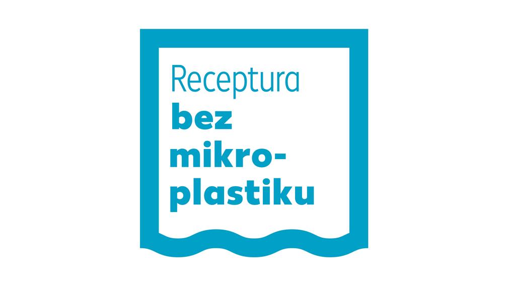 "Logo ""bez mikroplastiku"""