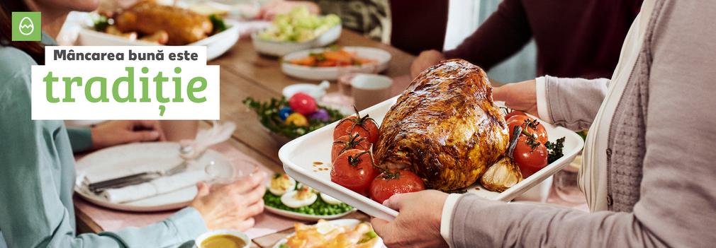 Mâncarea bună este tradiție - Paște