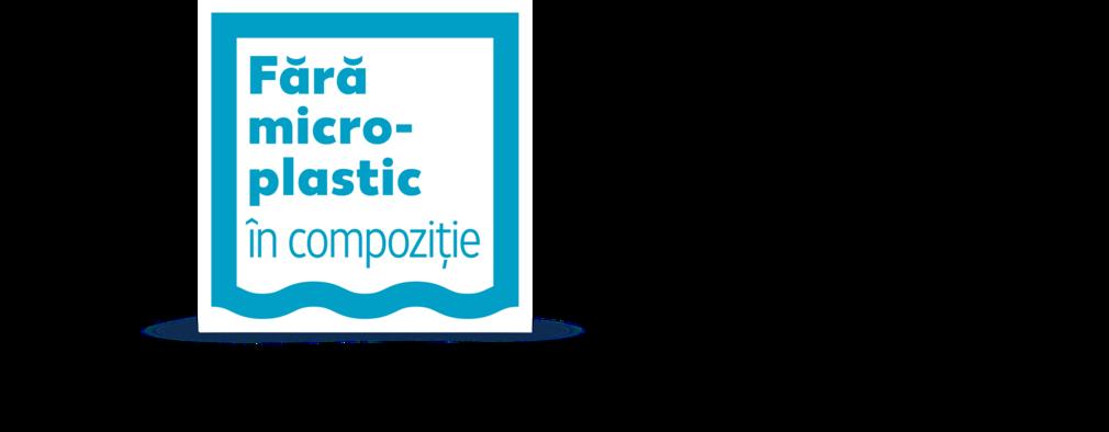 """Logo """"Fara microplastic"""""""