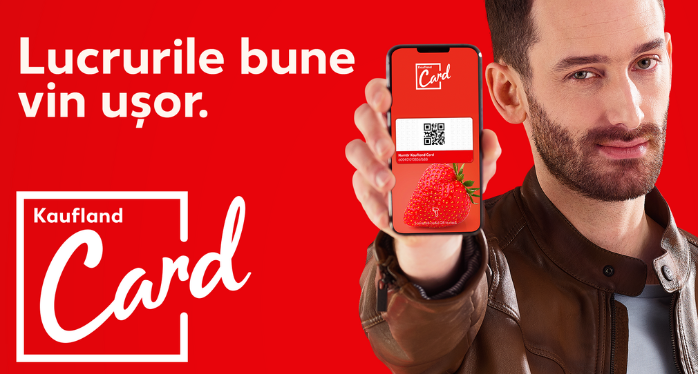 Kaufland Card - promotii, puncte bonus, oferte personalizate
