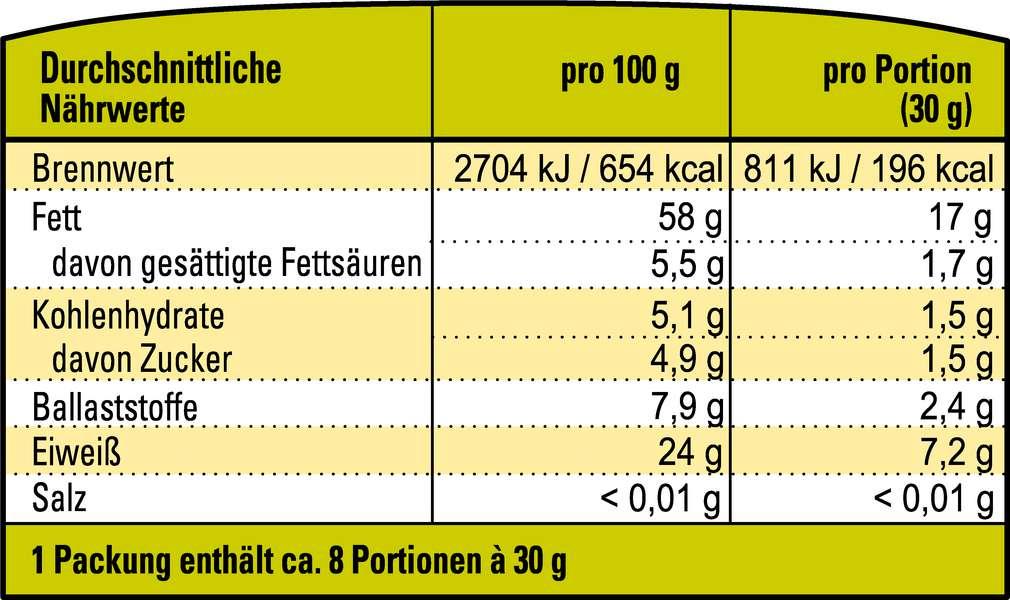 Abbildung des Sortimentsartikels K-Take it Veggie Veganes Bio-Mandel-Mus weiß 250g
