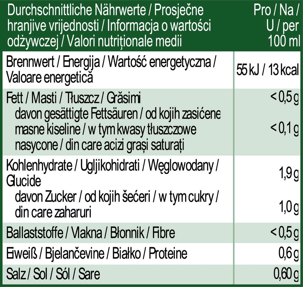 Abbildung des Sortimentsartikels K-Bio Sauerkrautsaft 0,5l