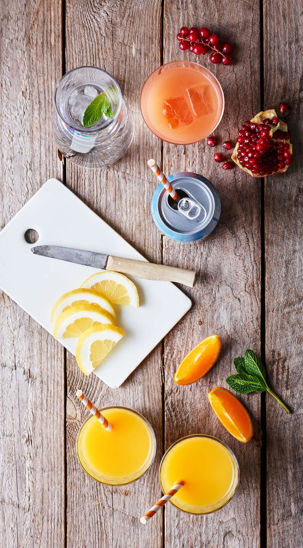 Изображение на свежи плодови напитки