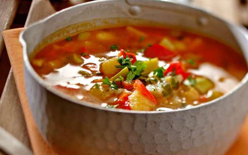 Изображение на бърза зеленчукова супа