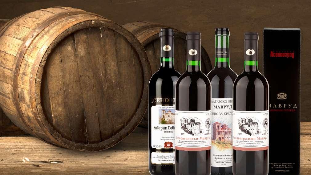 -30% за всички вина в бутилка с марка Асеновград