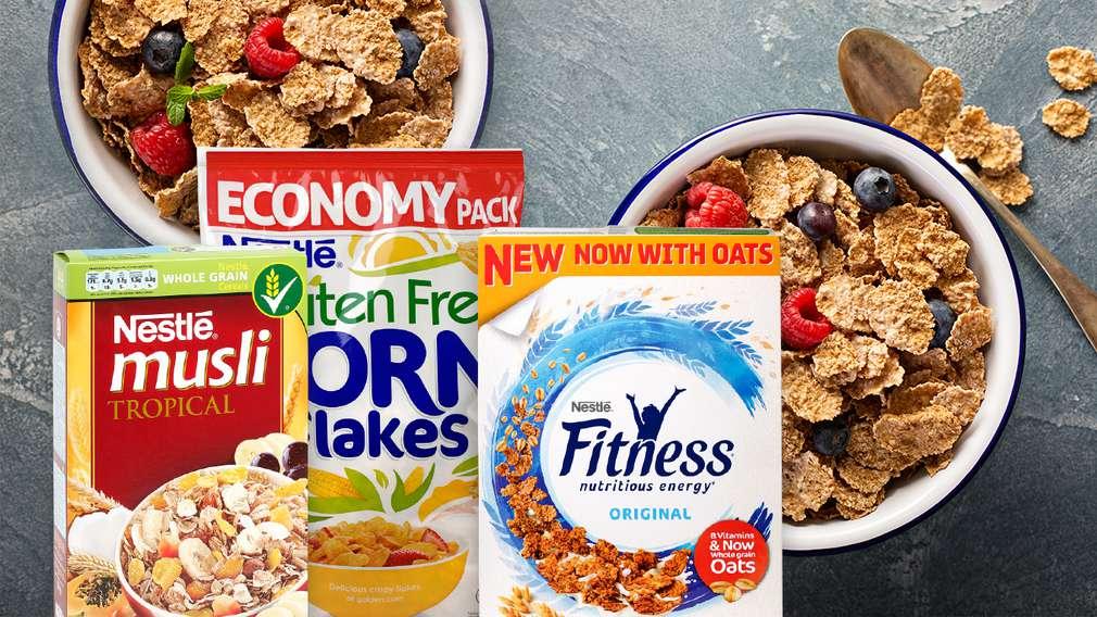 -35% за всички зърнени закуски и мюсли барове с марка Nestle