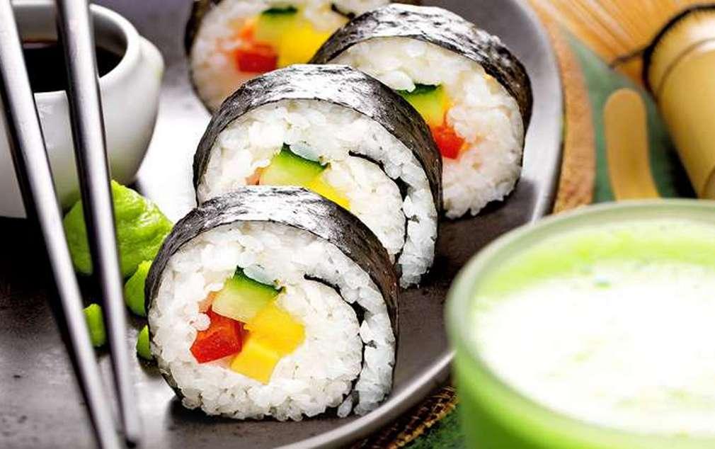 Изображение на вегетарианско суши