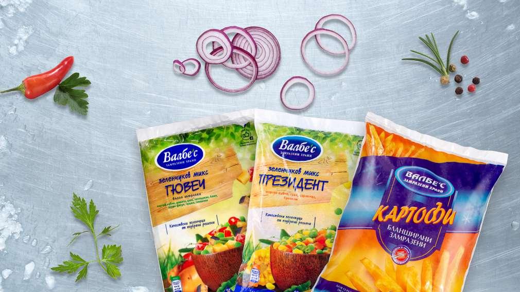 -25% отстъпка за всички замразени продукти с марка Валбес