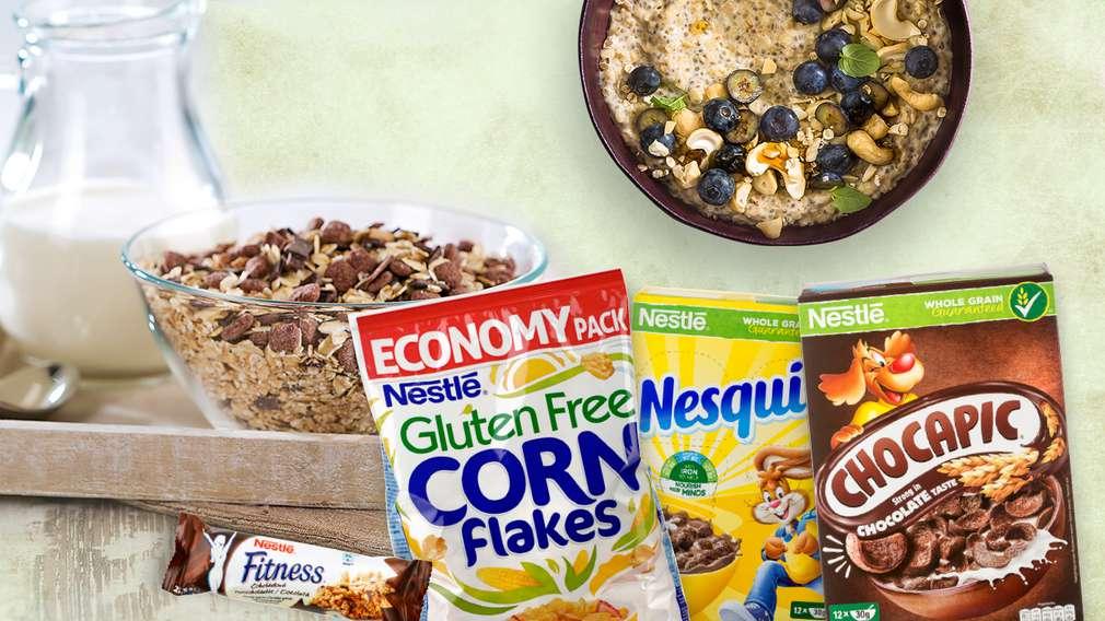 -25% за зърнени закуски и мюсли барове Nestle