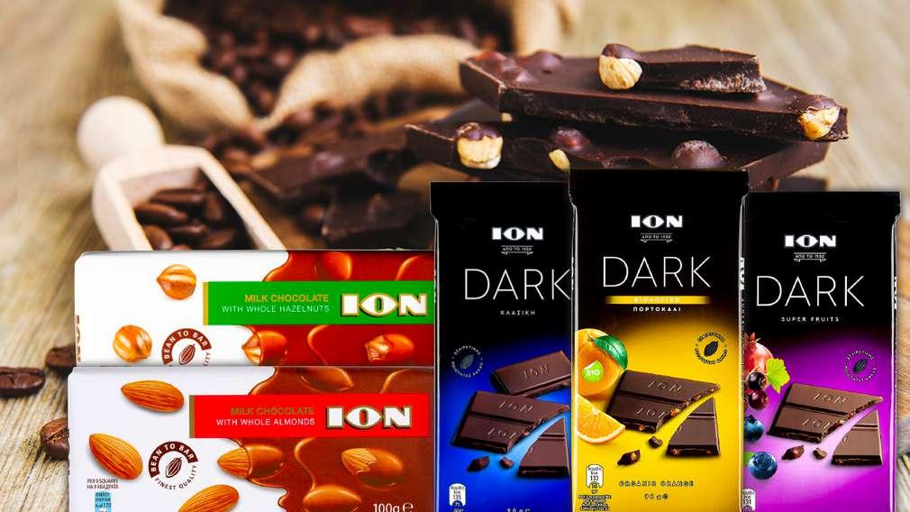 -30% отстъпка на шоколади с марка ION