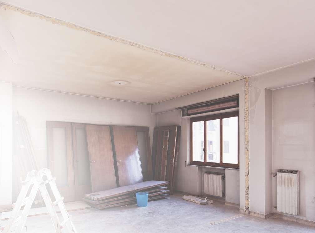 Изображение на таван в ремонт