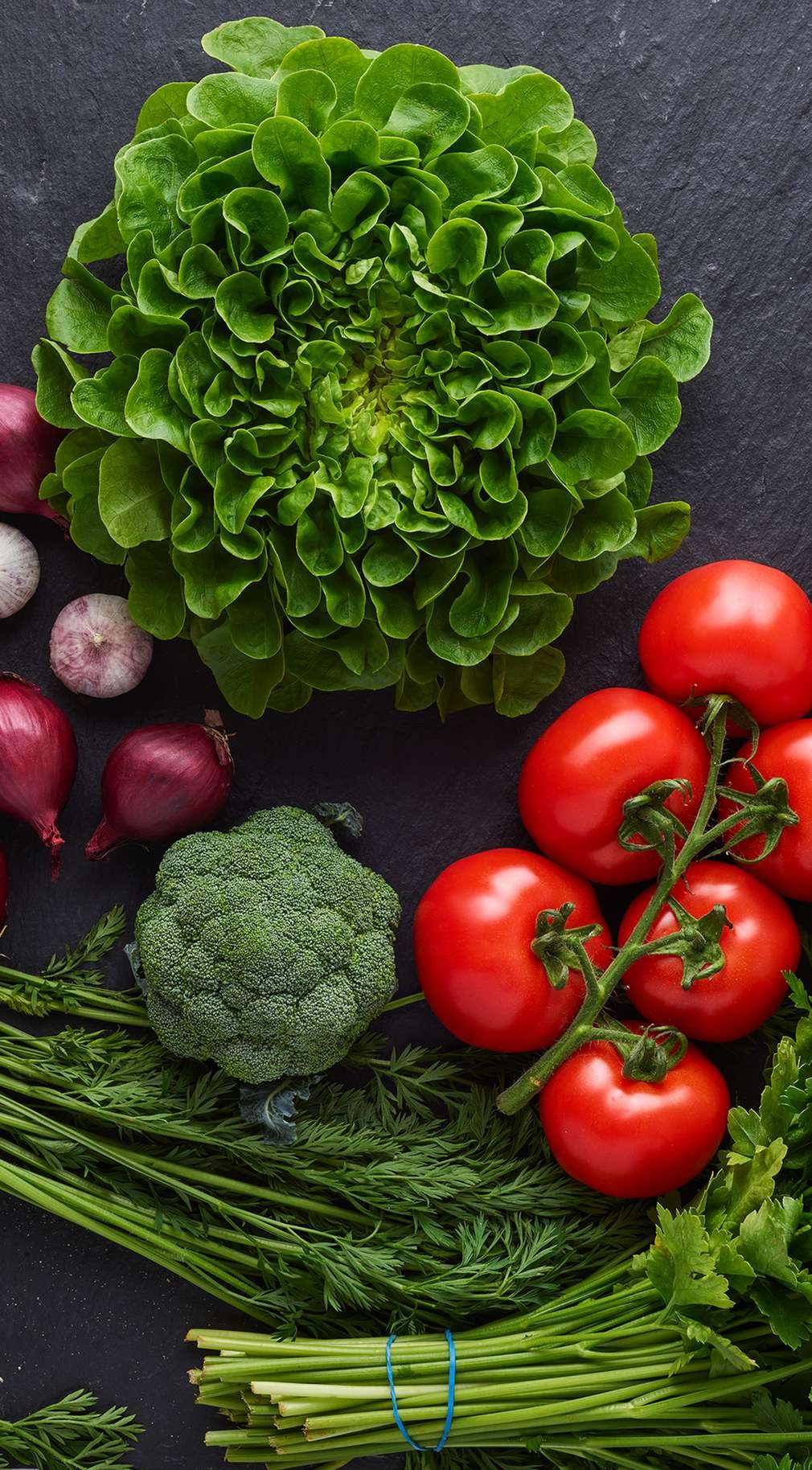 Изображение на свежи зеленчуци