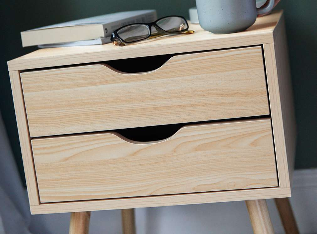 Изображение на шкафче с 2 чекмеджета Liv&Bo®
