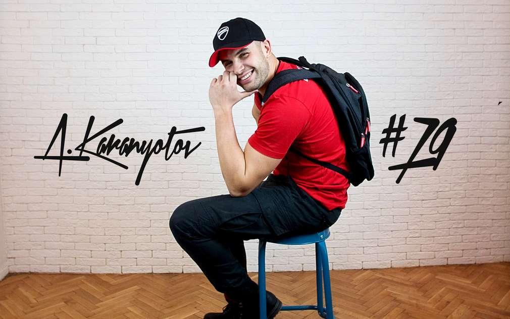 Изображение на Ангел Караньотов, лице на кампанията