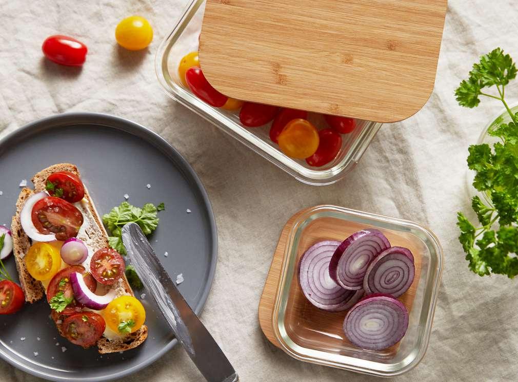 Изображение на стъклени съдове за съхранение на храна Spice & Soul®