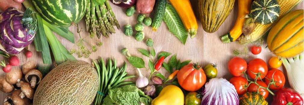 Изображение на свежи плодове и зеленчуци