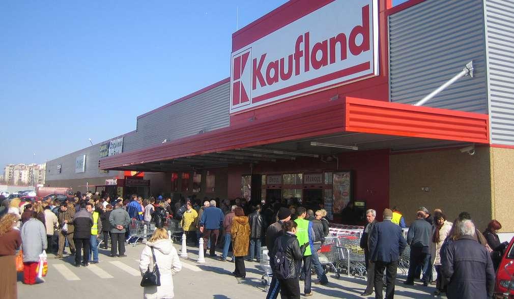 Снимка на първия Kaufland в Пловдив