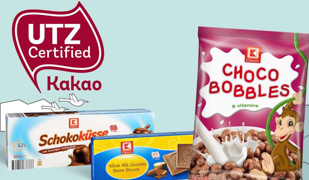 Шоколадови продукти с марката K-Classic