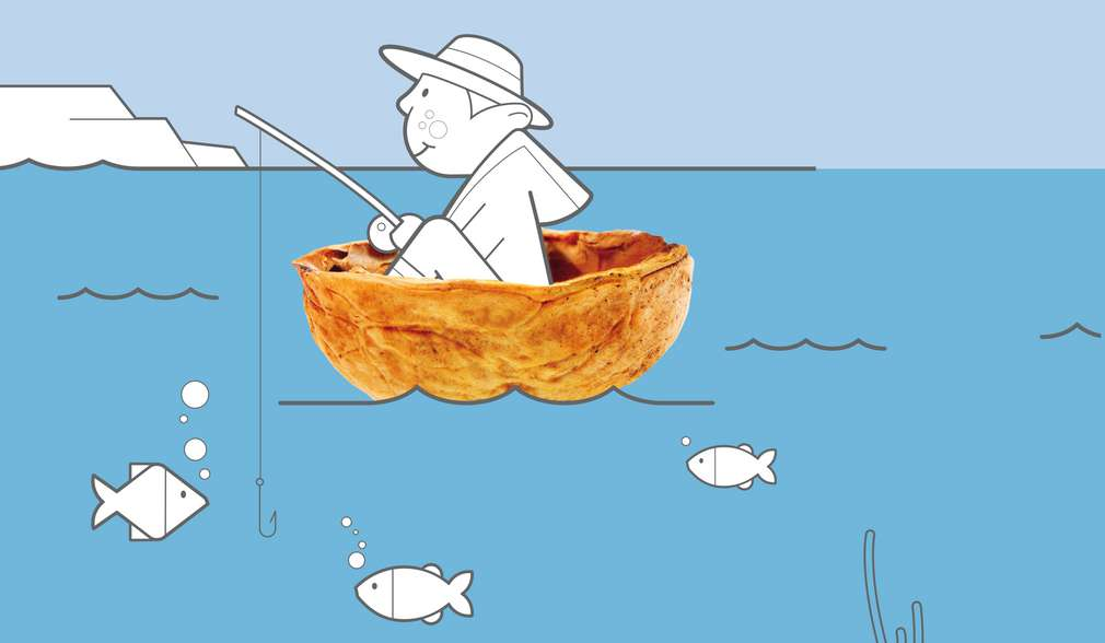 Илюстрация на рибар