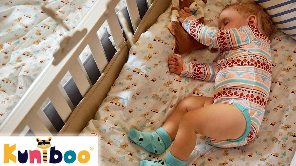 Изображение на бебе, облечено в дрешки от собствената матрка на Kaufland Kuniboo