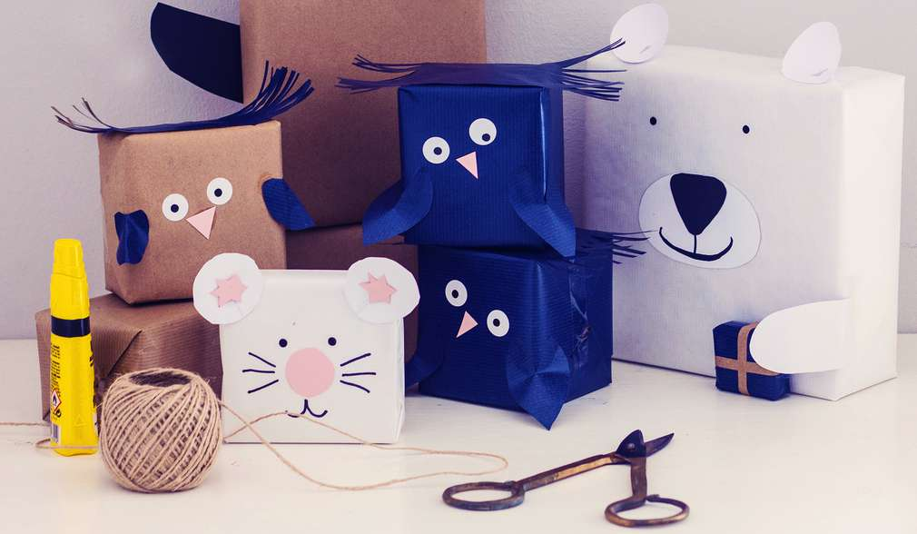 Ръчно изработена опаковка за детски подаръци