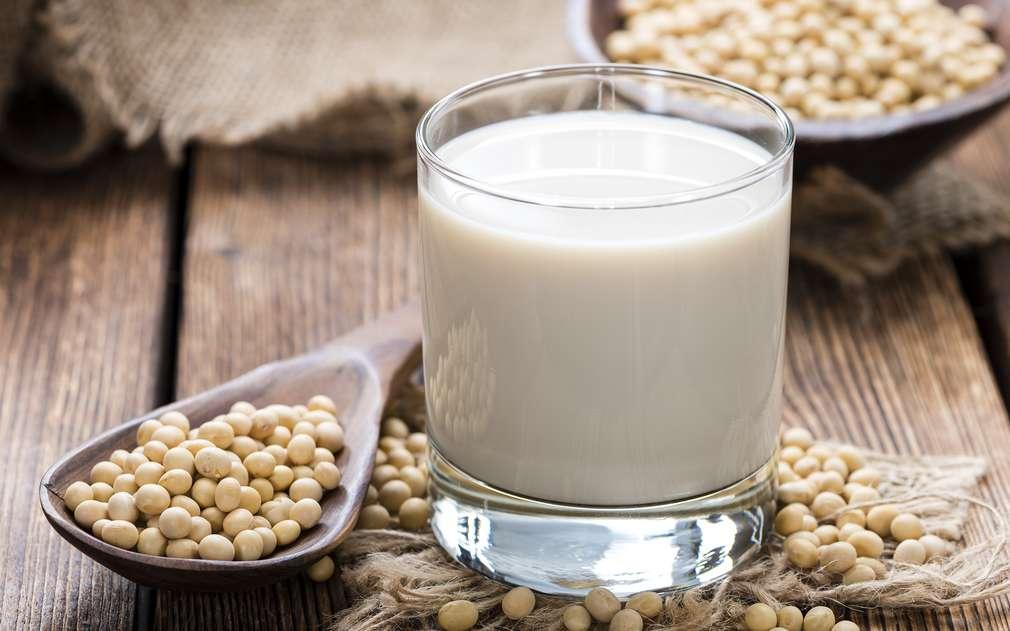 Изображение на соево мляко