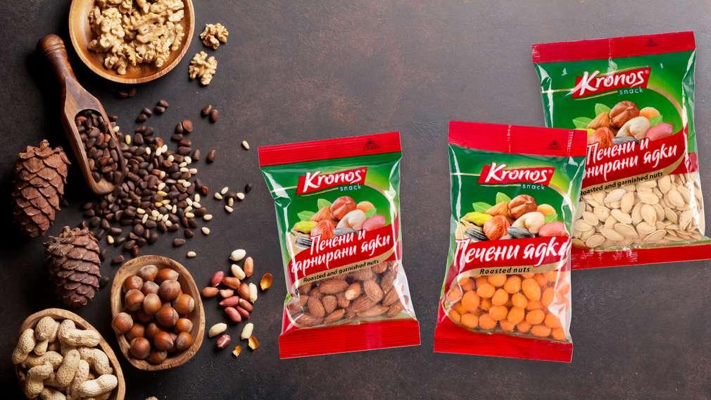 -35% отстъпка за печени ядки с марка Kronos