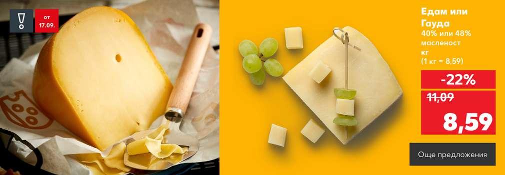 Изображение на сирене гауда