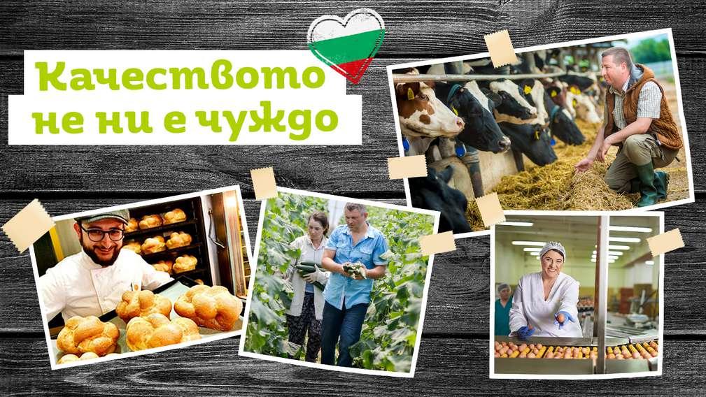 Изображение на част от българските производители, с които си партнираме