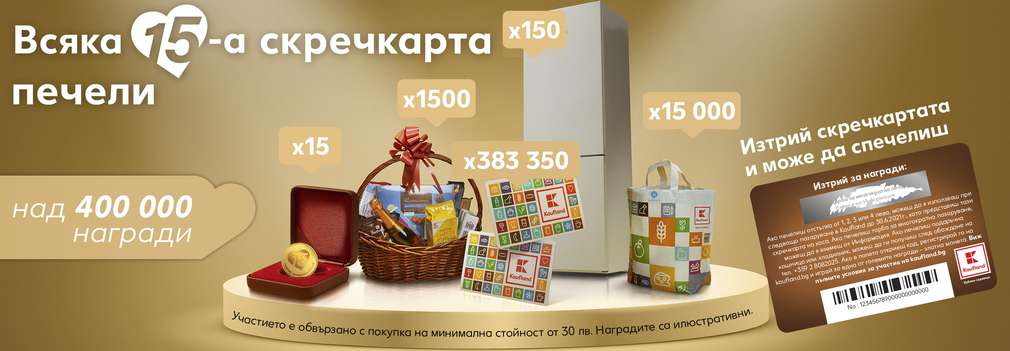 15 години Kaufland България