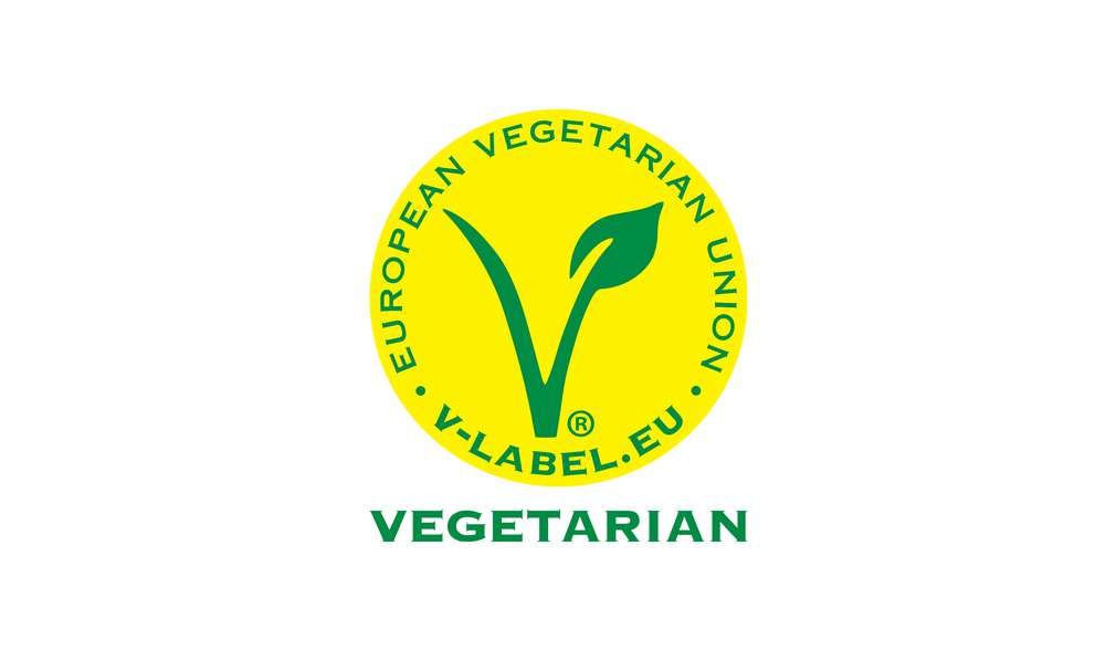 Логото на V-Label Vegetarian