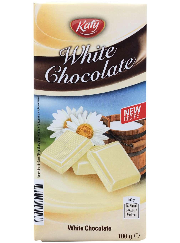 Bílá čokoláda Katy