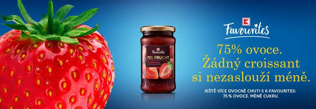K-Favourites Jahodová marmeláda