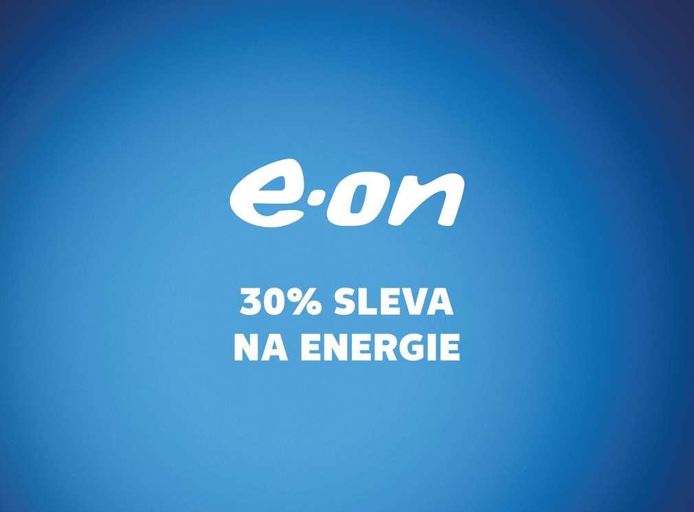 30% sleva na enerige u e-on
