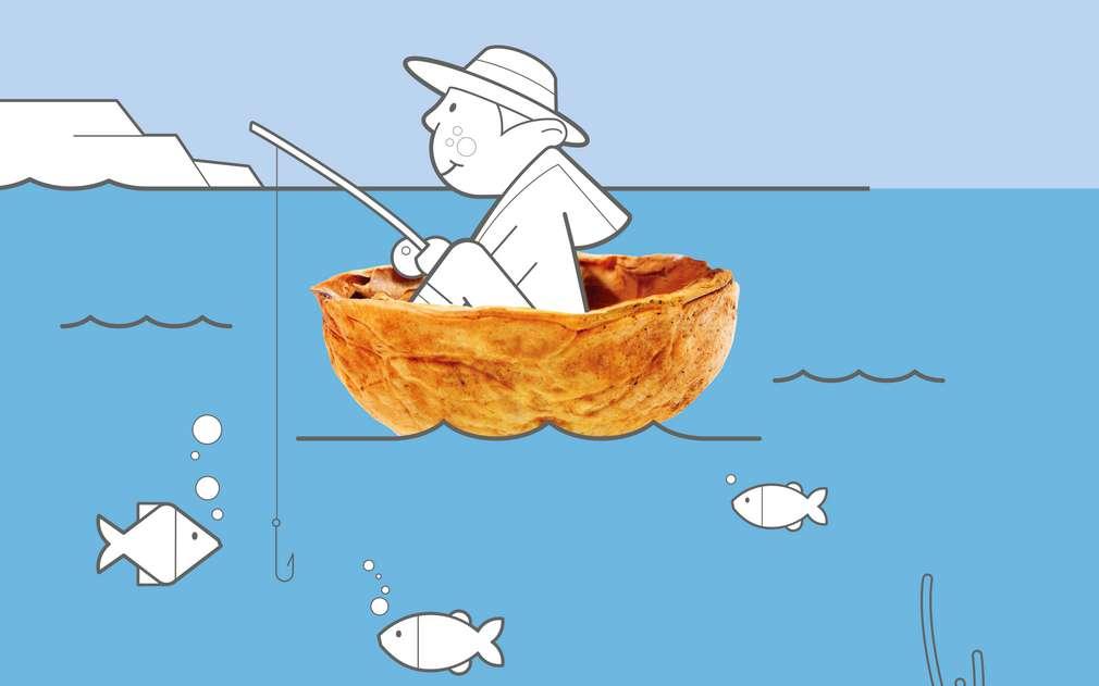 Ryby a mořské plody pochází z kontrolovaného rybolovu