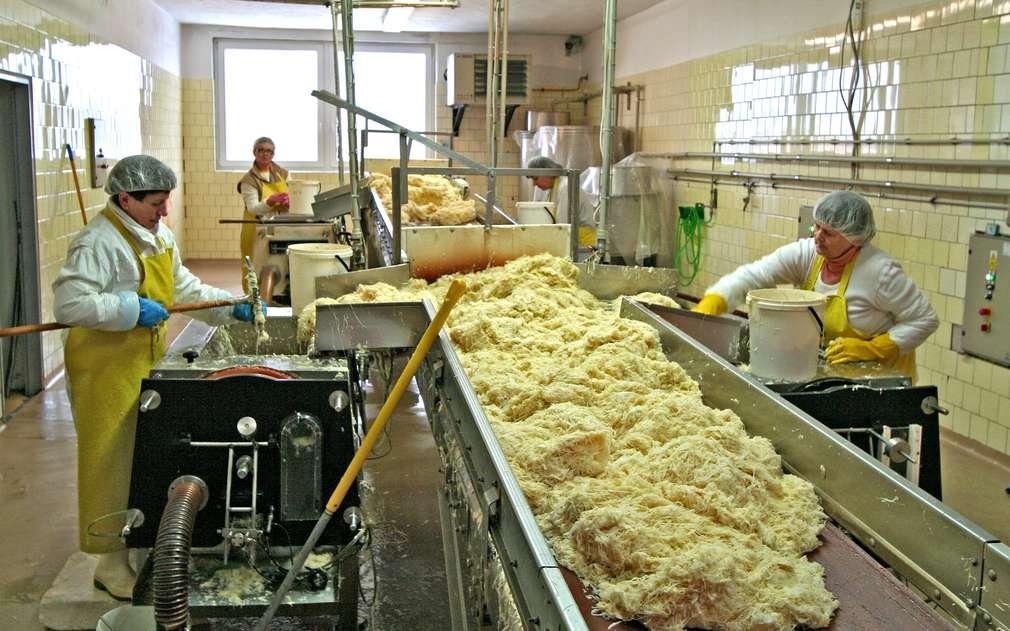 Provozovna výroby kyselého zelí SAMIR