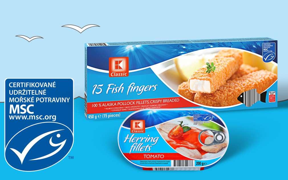 Kaufland společně s organizací MSC podporuje poctivý rybolov