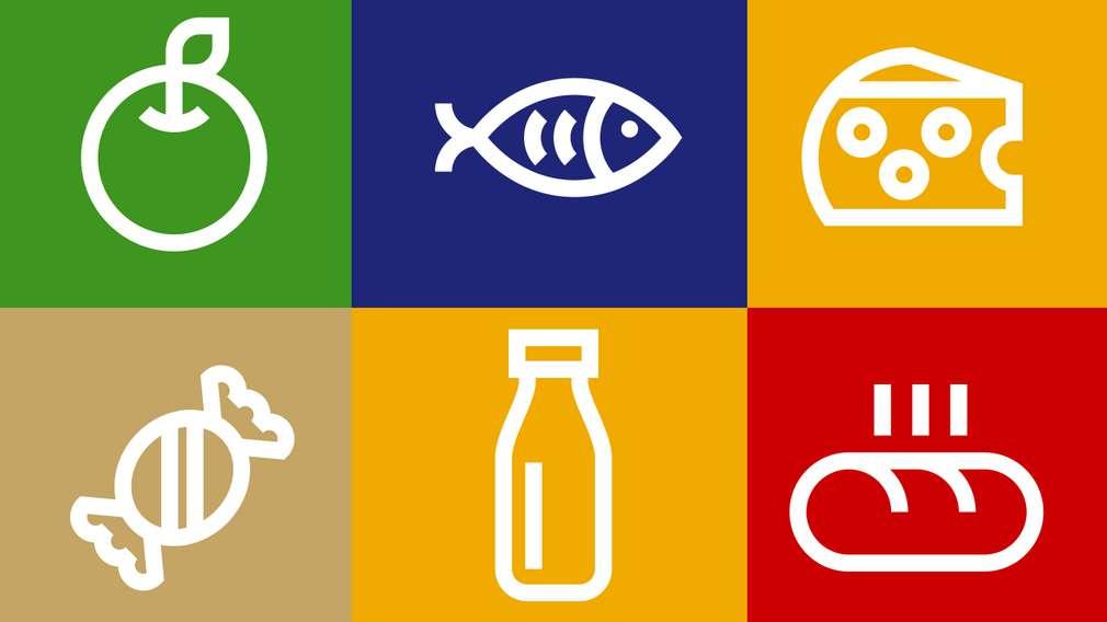 Zjistěte více o širokém sortimentu ovoce, zeleniny, pečiva, masa, rybách a dalších dobrotách