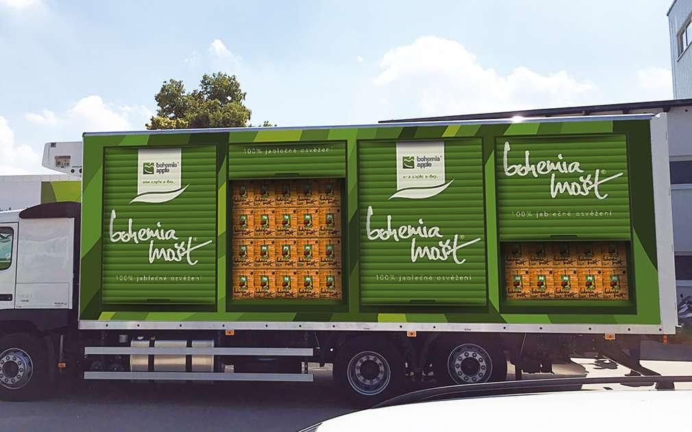 Mošt Bohemia Apple se dováží i do Kauflandu