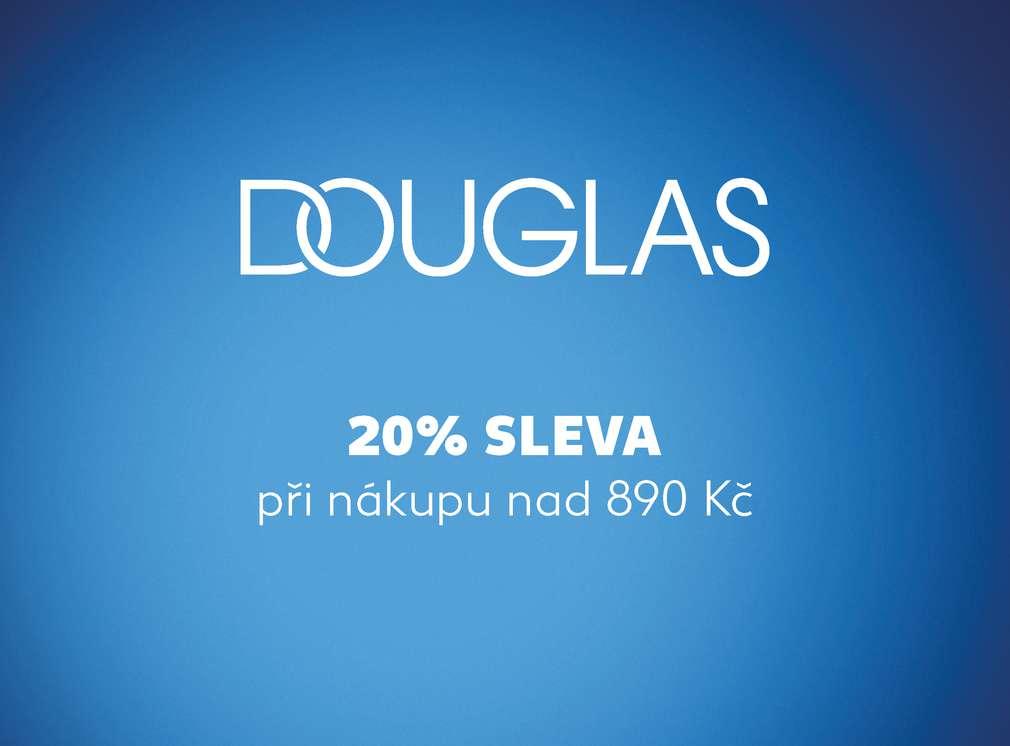 Sleva u partnera Douglas