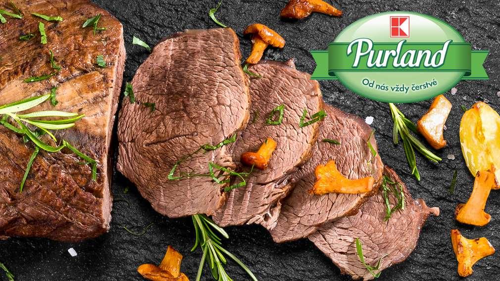Nová značka K-Purland masa z vlastního řeznictví