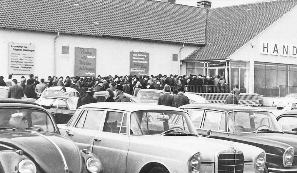 První Kaufland v Německu