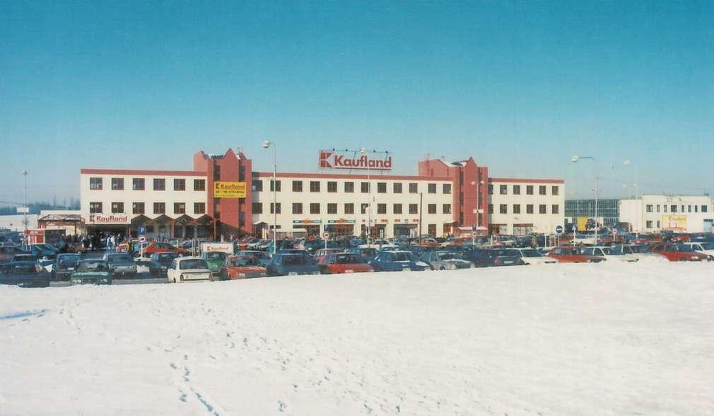 První Kaufland v České republice