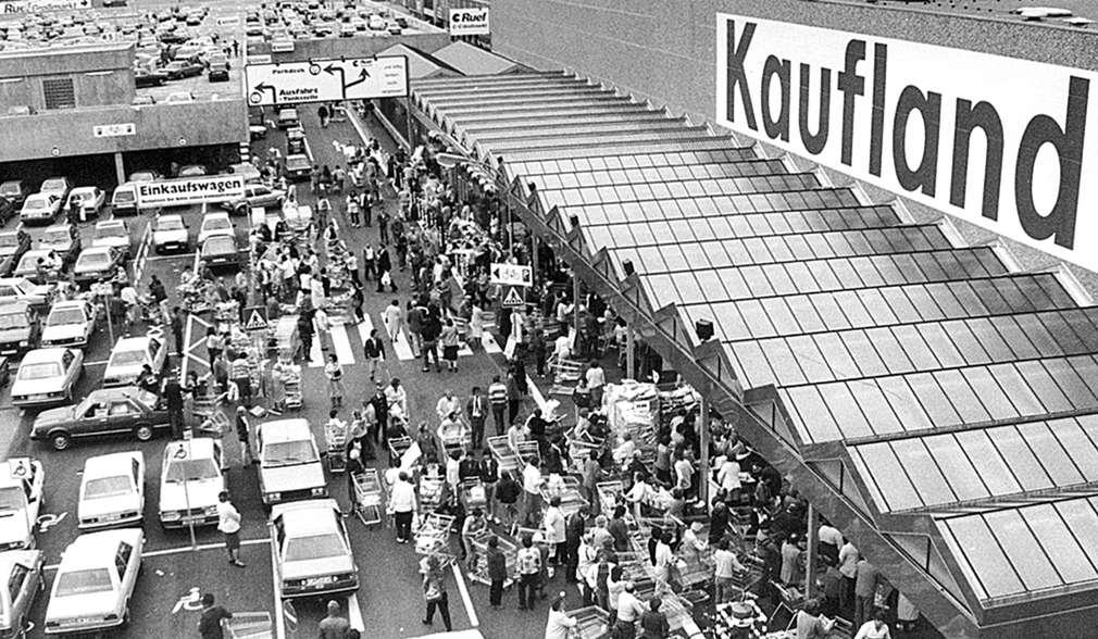 První větší prodejna Kaufland v Německu