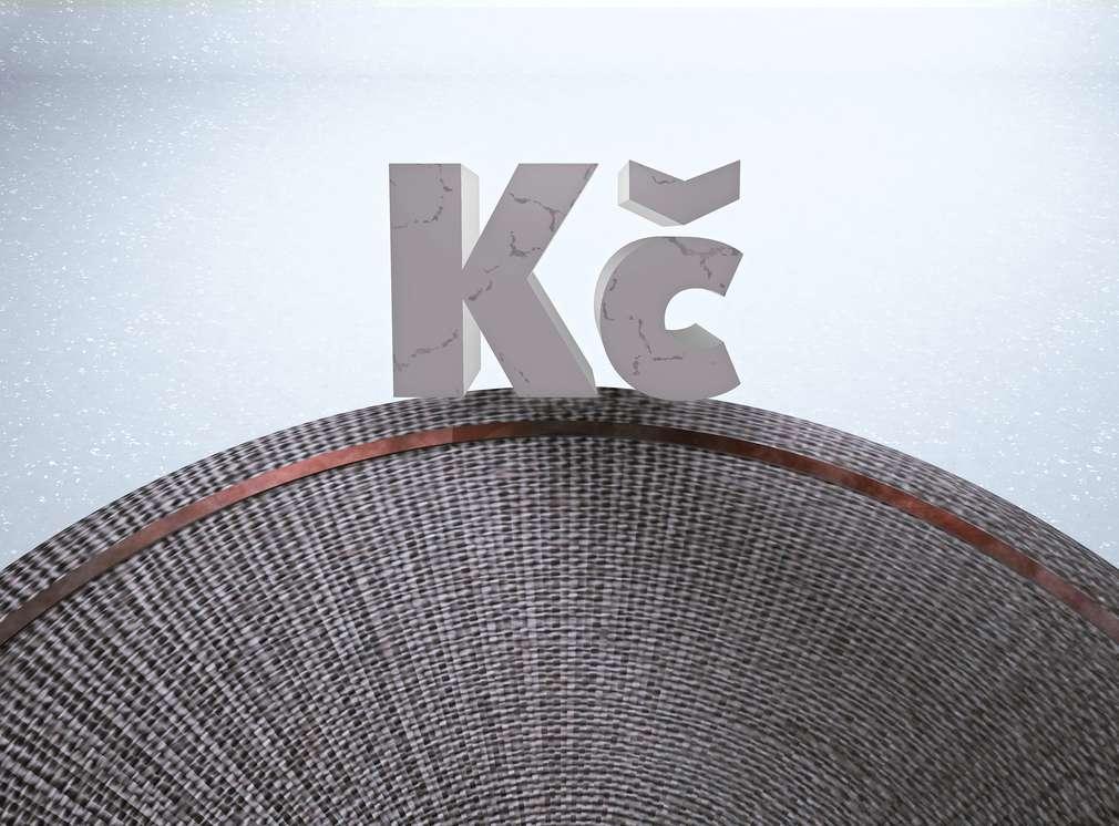 Symbol Kč