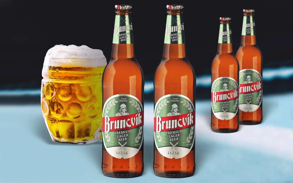 Ležák od Bruncvíka, prémiové pivo se skvělou chutí