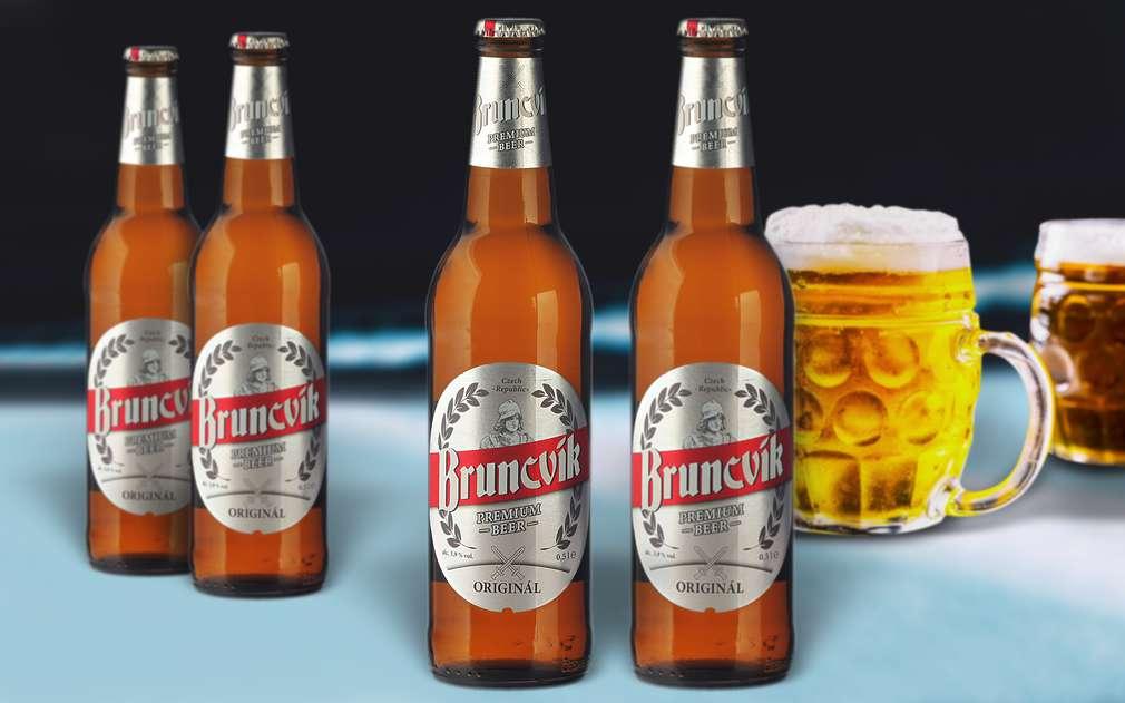 Originál pivo od Bruncvíka
