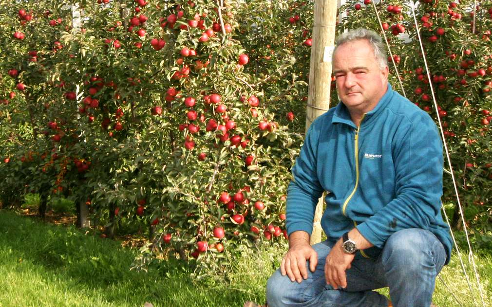 Pan Martin Šrytr je odborník na jablíčka