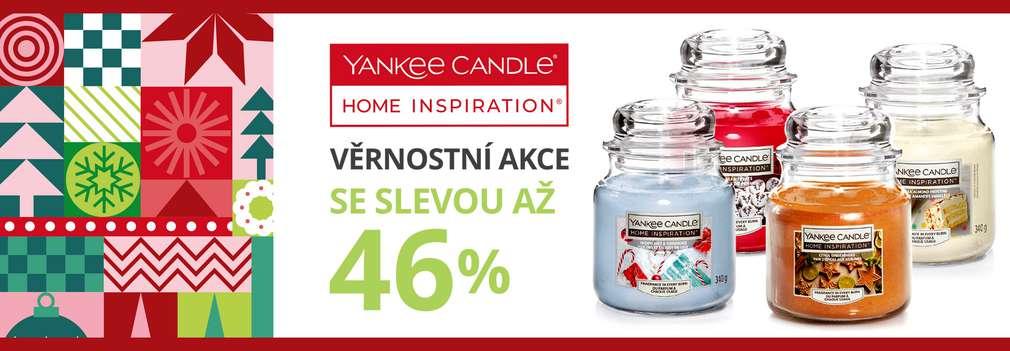 Různé druhy svíček značky Yankee Candle