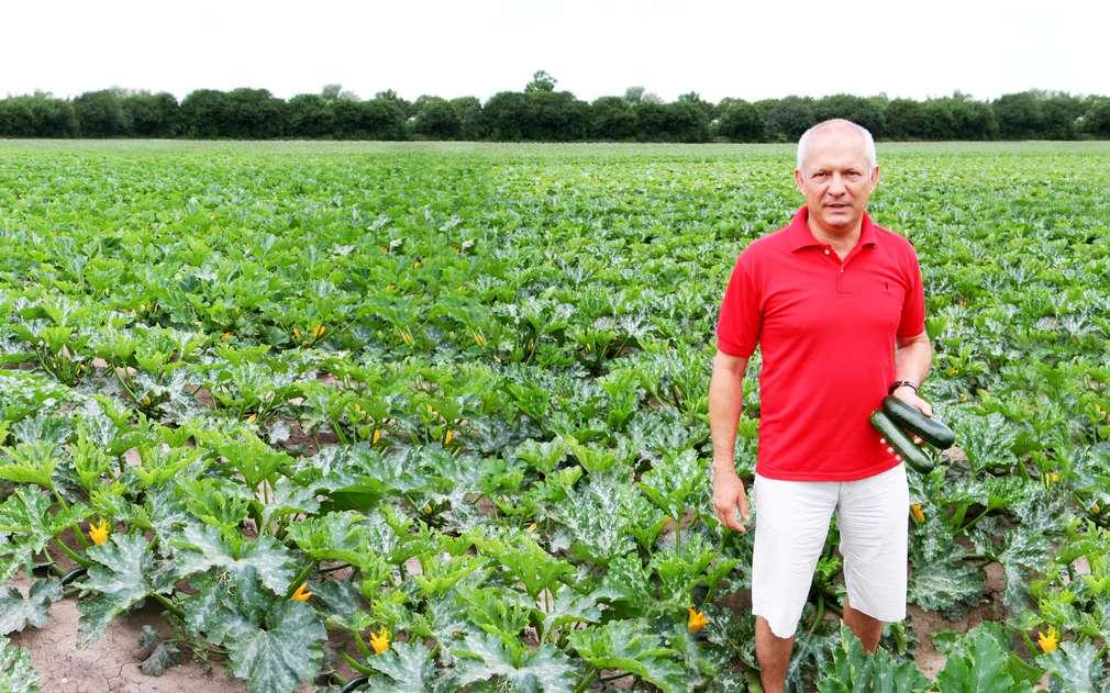 Pan Hanka v Mochově pěstuje bio zeleninu